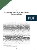 Capítulo IV  IRONIA Risa y ambivalencia en Los cabellos de Absalón Tamar, el grac...