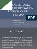 REGLAMENTO DEL COMITÉ DE OPERACIÓN ECONÓMICA DEL SISTEMA