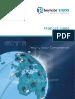 Keynote SIGOS Product Guide