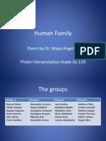 Human Family by Clasa a XI-A B