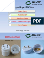 The Advantages Huge LED Tube