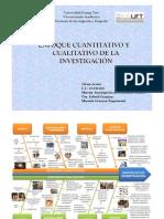 Diagrama Enfoque Cuantitativo y Cualitativo - Glenis Acosta