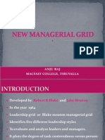 New Managerial Grid