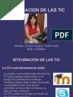 Presentacion Integracion de Las TIC