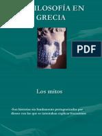 LA FILOSOFÍA EN GRECIA (1)