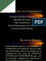 Introduccion a la Criminalística
