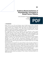 InTech-Evidence Based Usefulness of Physiotherapy Techniques in Breast Cancer Patients