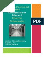Informe datacenter