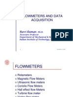 Flowmeters and Data Acquisition