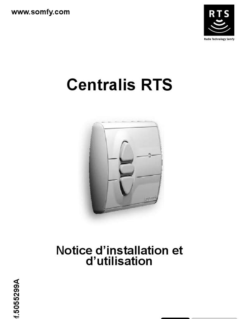 Notice Centralis Rts Technologie Général Science