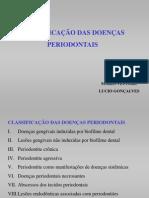 Classificação da Doenças Periodontais