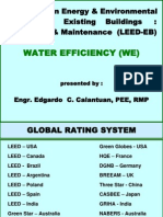 Leed-eb Water Efficiency