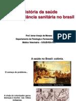 A história da saúde pública e vigilância sanitária no Brasil