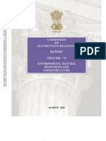 Punchhi Commission Report Volume 6 on Centre State Relaitons.