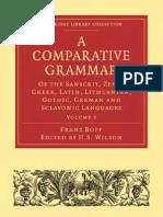 A Comparative Grammar