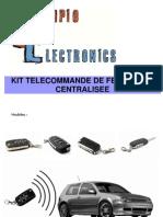 59b0x Manuel Telecommande