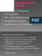 Process Approach to Teaching Writng