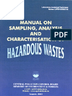 Manual on Hazardous Waste Cpcb