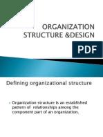 ORGANIZATION STRUCTURE &DESIGN - Copy.pptx