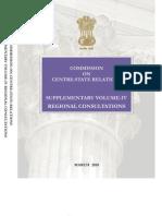 Supplementary Vol IV - Regional Consultations