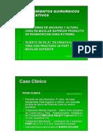 Procedimiento Quirúrgico Aumentativo en Implatologia Oral