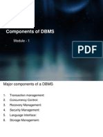 structure of DBMS