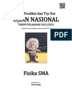 Soal Prediksi UN Fisika SMA 2013
