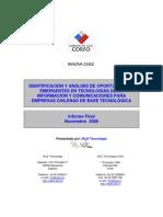 Oportunidades Emergentes TICs Para Empresas Chilenas de Base Tecnologica