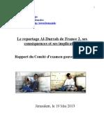 Rapport du Comité d'examen gouvernemental sur l'affaire al dura