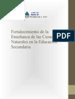 DOC. Fortalecimiento de las Enseñanza de las Ciencias Naturales