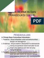 Kerja Hormon Dan Tranduksi Sinyal