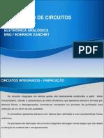 Processo fabricação de Circuitos Integrados
