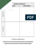 Estrategias Político-Organizativas (MATRIZ 2)