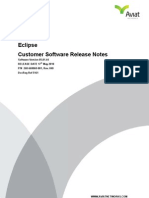 Software Customer Release Notes 5.1.44