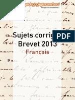 Corrigé Brevet 2013 - Français.pdf