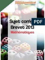 Corrigé Brevet 2013 - Mathématiques.pdf