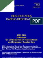 Resuscitarea Cardio Respiratorie
