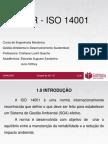 GESTAO AMBIENTAL - ISO14001