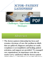 The Doctor–Patient Relationship