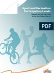 Sport and Participation Levels