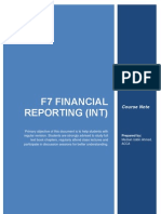 ACCA F7 Course Note by Mezbah Uddin