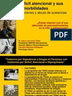 Juan Luis Lorca_Defict Atencional y Sus Comorbilidades, Adicciones y Abuso de Sustancias