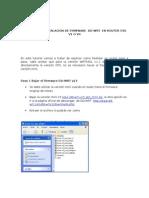 Tutorial de Instalacion de Firmware DD-WRT Rotuter WRT54GL v1