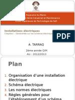 installations électrique ch2
