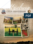 Gettysburg 150th Anniversary Events Guide from the National Park Service (71 pages)