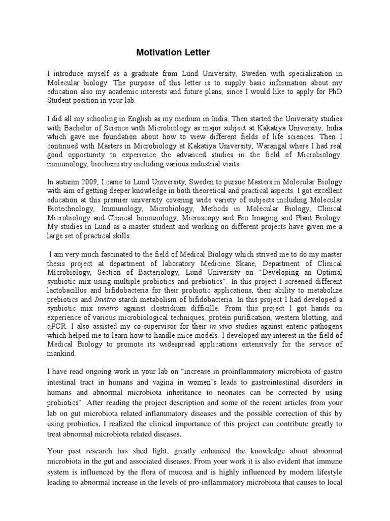 Motivation letter gut flora gastrointestinal tract thecheapjerseys Gallery