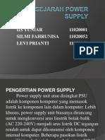 Sejarah Power Supply
