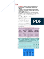 CÁLCULO DE EXTINNTORES - Modelo 1