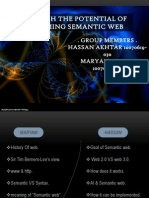 Presentation on semantic web