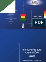 Informe de Gestión 2011